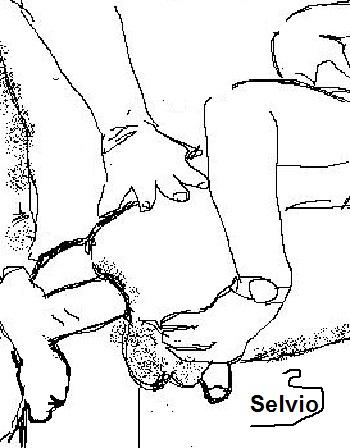 <hr>Con Las Rodillas Temblorosas [solo adultos]